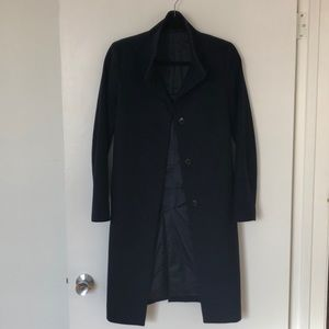Uniqlo Wool Cashmere Fall/Spring Knee-Length Coat